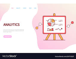 Analytics Chart Data Analytics Page With Diagram And Chart