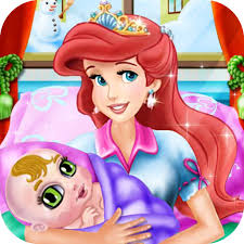 barbie makeup mermaid baby barbie doll beauty games free kids games by ying chen
