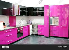 Pink Kitchen Pink Kitchen Stock Photo Stock Images Bigstock