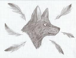 Graph Paper Draw Graph Paper Wolf Draw By Lstheninjakitten On Deviantart
