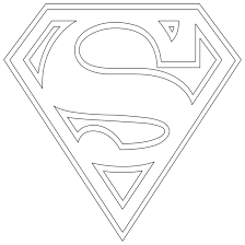 .full sheet coloring, source : Superman Logo Coloring Pages Coloring Home