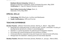 Unusual Early Childhood Resume Pictures Inspiration Resume Ideas