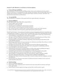 Resume Examples For Youth Ministry Resume For Study