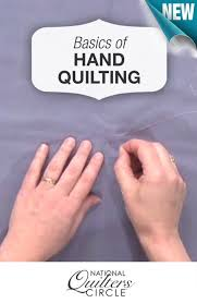 Learn the basics of hand quilting http://www ... & If you ever wanted to give hand quilting a try, but were uncertain on how  to get started, check out these basic hand quilting techniques. Adamdwight.com