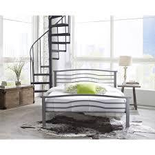 metal platform bed frame. Amazon.com: Hanover HBEDMID-QN Midtown Metal Platform Bed Frame, Queen, Metallic: Kitchen \u0026 Dining Frame