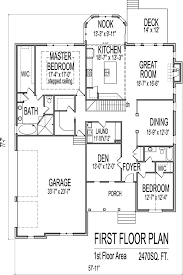 Two Story House Plans Three Car Garage  HomecaThree Story Floor Plans