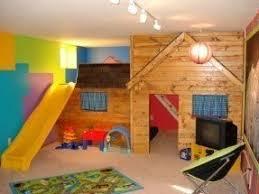 Indoor playhouse with slide 2