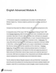 metropolis essay year hsc english advanced thinkswap year 12 hsc module a 1984 metrpolis essay 2016