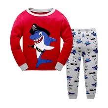 boys shark pajamas online shopping the world largest boys shark long sleeve pajamas for boys cotton red shark fashion pajama underwear for boys toddler baby clothes
