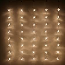 lighting curtains. indoor star curtain light with 40 warm white leds on clear cable by lights4fun amazoncouk kitchen u0026 home lighting curtains