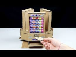 Mentos Vending Machine Beauteous Wow Amazing DIY Vending Machine With 48 Different Taste Mentos At