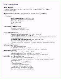 Sample Cover Letter For Nursing Labor And Delivery Nurse