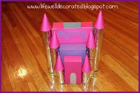 Valentine Shoe Box Decorating Ideas Life Well Decorated Princess Castle Valentine's Box 87