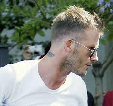 25 Short Blonde Hairstyles For Men David Beckham Ct Hair Nail