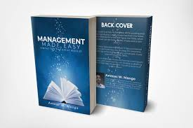 entry 4 for design a cover for a book about management tips