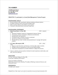 Resume Resume Listing Skills