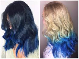 Dark To Light Ombre Hair Blue Ombre Hair Color Light And Dark Shades 2017