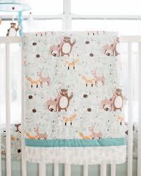woodland crib bedding forest friends
