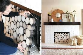 faux logs for fireplace fake fireplace logs fake fireplace logs with tea lights