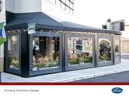 unique restaurant patio enclosures and restaurant patio enclosures