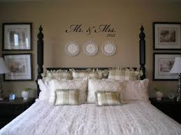 mr mrs with year wall decal sticker lettering transfer