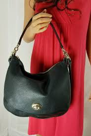 350 Coach Women s Pebbled Turnlock Hobo