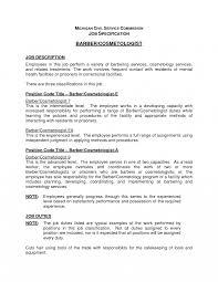 Cosmetology Resume Jd Templates Handyman Job Description Template Cosmetologist 63