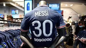 PSG: Trikots von Lionel Messi generierten offenbar 20 Millionen Euro in  sieben Minuten