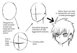 Basi Per Disegnare Una Testa Manga