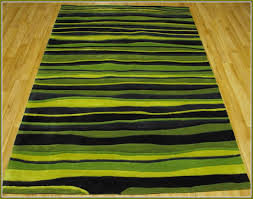 lime green and black area rugs