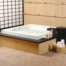 large soaking tub. Brilliant Large Large Japanese Style Square Whirlpool In Soaking Tub G