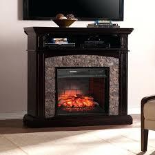 infrared electric fireplace boxwood corner quartz log set bennett tv stand in farmhouse ivory elect