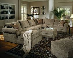 chenille sectional sofa couch in olive