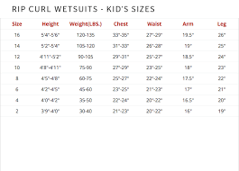 Rip Curl Booties Size Chart Rip Curl Surf Booties Hansens Surf