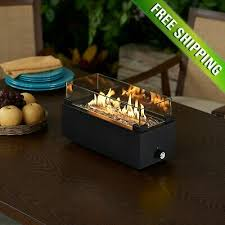 small tabletop propane fire pit table burner gas fireplace patio burner firepit