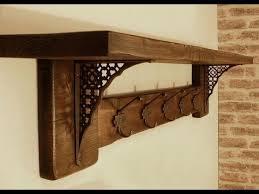 wall mount coat rack with shelf you