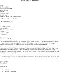 Doctor Cover Letter Sample Vbhotels Co