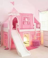 Princess Castle Bedroom Furniture Castle Pink Princess Twin Bed With Slide Princess Twin Bed