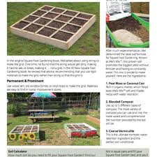 quarterly newsletter for the square foot gardening foundation
