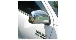 <b>Декоративные</b> накладки на <b>боковые</b> зеркала TOYOTA HILUX 2006+