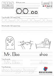 Middle sounds worksheet 1 grade/level: Learn The Phonics Letter Oo Sounds By Red Cat Reading