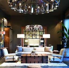 rh halo chandelier restoration hardware crystal
