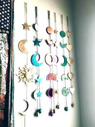brilliant art hanging wall art decor moon phases for plans 11 to r