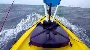 kayak sail plans homemade kayak sail awesome test mp4 you