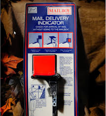 mailbox with mail indicator. Beautiful Mail Save Unnecessary Trips To An Empty Mailbox By Checking Arrival Oof Mail  From Inside Your Home Easy Installation Most Mailboxes Mail Delivery Indicator  In Mailbox With R