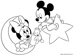 Minnie And Mickey Coloring Pages Free Coloring Library