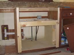 farmhouse sink cabinet