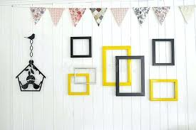 multiple picture frames wood. Multiple Picture Frames On Wall Download Photo A White Wood Stock Image .