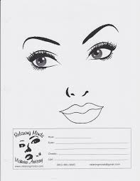 sle chart templates makeup face charts template blank face for makeup blank makeup face chart