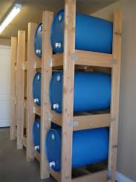 water barrel storage rack here is a great link for purchasing these in